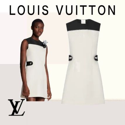 Louis Vuitton ワンピース クラシック☆【LouisVuitton】LV★ STRAIGHT DRESS ワンピース