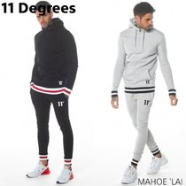 11 Degrees Apollo Quarter Zip Hoodie & Joggers Skinny Fit