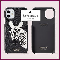 kate spade☆ beaded zebra iPhone 11ケース ☆送料込み