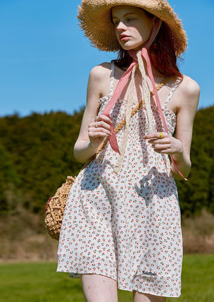 rolarola ワンピース ☆ROLAROLA☆ FLOWER SMOCKING SLEEVELESS ONE-PIECE(7)