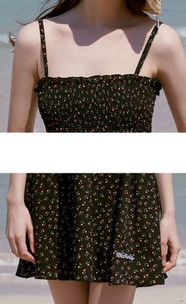 rolarola ワンピース ☆ROLAROLA☆ FLOWER SMOCKING SLEEVELESS ONE-PIECE(16)