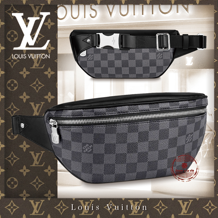 20SS 直営買付 新作☆キャンパス・バムバッグ / ダミエ / 人気♪ (Louis Vuitton/バッグ・カバンその他) N40362