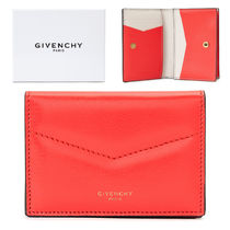 GIVENCHY ★UNISEX Logo leather カードケース_BB608YB0CC 623