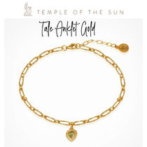 【TEMPLE OF THE SUN】Tale Anklet Gold ゴールドアンクレット
