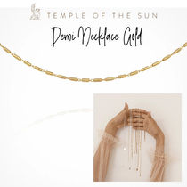 【TEMPLE OF THE SUN】Demi Necklace Gold ゴールドネックレス