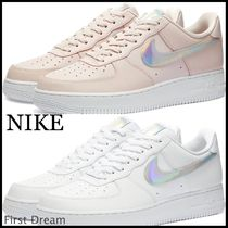 送料込み☆NIKE *AIR FORCE 1 07 METALLIC SWOOSH W  スニーカー