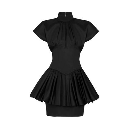 Louis Vuitton ワンピース 新作【LouisVuitton】STRAPLESS DETAIL DRESS AND PUFFY SKIRT(2)