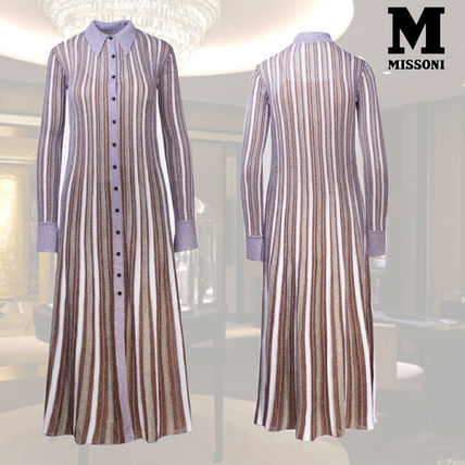 MISSONI ワンピース VIP価格【M MISSONI】Viscose and cotton dress 関税込