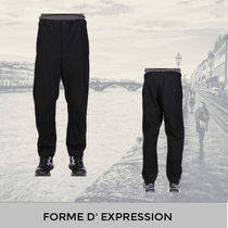 Forme d'Expression BLACK STRAIGHT ANKLE PANTS