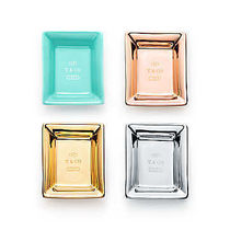【Tiffany&Co.】Metallic Vide Poche Set☆4枚セット