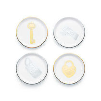 【Tiffany&Co.】Round Ring Dish Set☆4枚セット