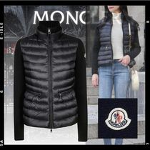 【Moncler】LINEDダウン入カーディガン