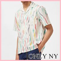Only NY タンゴ S/S シャツ 半袖 コットン Natural 送料込み