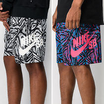 【Nike SB】 Dri-Fit Sunday Geo Print Black & White Shorts