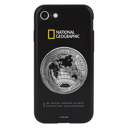 NATIONAL GEOGRAPHIC スマホケース・テックアクセサリー 2020 iPhone SE/8/7 ケース Global Seal Metal-Deco Case(4)