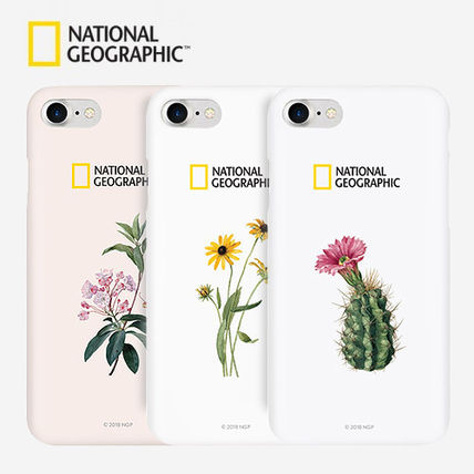 NATIONAL GEOGRAPHIC スマホケース・テックアクセサリー 2020iPhoneSE/8/7ケース National Geographic Flower Sole Style