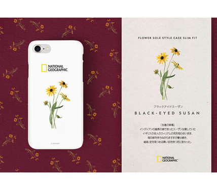 NATIONAL GEOGRAPHIC スマホケース・テックアクセサリー 2020iPhoneSE/8/7ケース National Geographic Flower Sole Style(6)