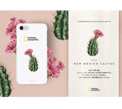 NATIONAL GEOGRAPHIC スマホケース・テックアクセサリー 2020iPhoneSE/8/7ケース National Geographic Flower Sole Style(7)