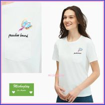 【kate spade】爽やかホワイトTシャツ★paradise bound tee★