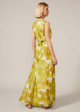Phase Eight ワンピース 【Phase Eight】Coline シルク Blend Maxi Dress 花柄 ドレープ(3)