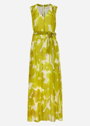 Phase Eight ワンピース 【Phase Eight】Coline シルク Blend Maxi Dress 花柄 ドレープ(7)