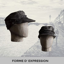Forme d'Expression Hat 'HH008 Cadet Cap grey painted'