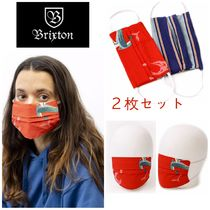 【Brixton】●マスク●2枚セット●Face Mask 2-Pack - Multi