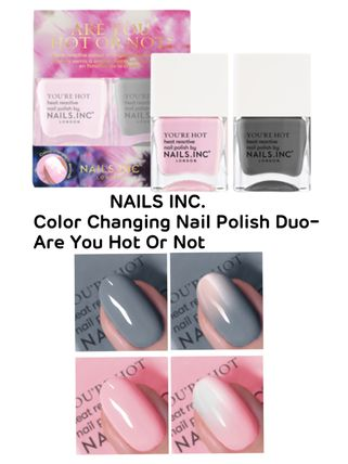 〈NAILS INC. 〉★2020SS★Nail Polish Duo- Are You Hot Or Not