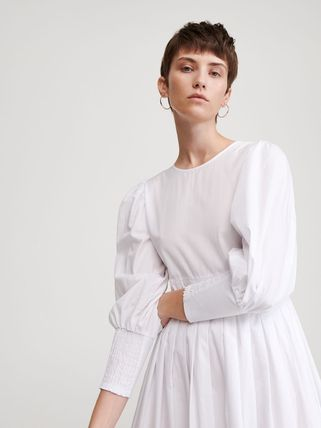 RESERVED ワンピース 【RESERVED(リザーブド) 】Cotton dress コットン ワンピース(4)