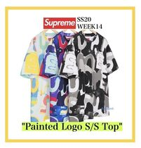 Supreme Painted Logo S/S Top SS20