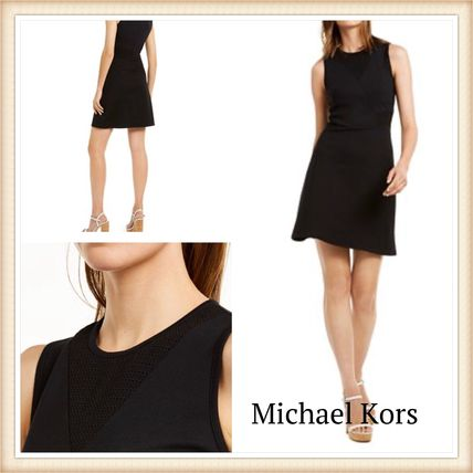Michael Kors ワンピース MICHAEL KORS☆Mesh Mix Dress お呼ばれドレス