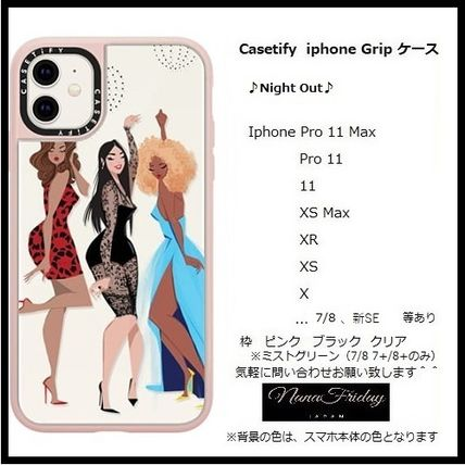 Casetify スマホケース・テックアクセサリー Casetify iphone Grip case♪Night Out♪