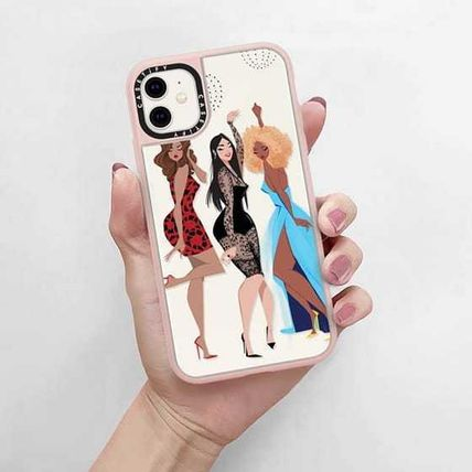 Casetify スマホケース・テックアクセサリー Casetify iphone Grip case♪Night Out♪(5)