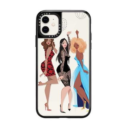 Casetify スマホケース・テックアクセサリー Casetify iphone Grip case♪Night Out♪(6)