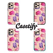 【Casetify】 ★ iPhone ★インパクト ピンクマカロン