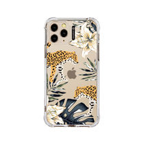 ★SHARON6★ CHEETAH iPhone クリアケース