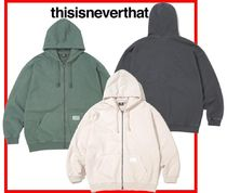 thisisneverthat(ディスイズネバーザット) パーカー・フーディ 人気☆【thisisneverthat×NEW BALANCE】☆NB TNT ZIPUP Sweat☆