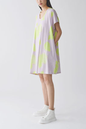 """COS ワンピース """"COS"""" 新作☆ORGANIC COTTON V-NECK RELAXED A-LINE DRESS"""