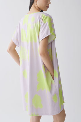 """COS ワンピース """"COS"""" 新作☆ORGANIC COTTON V-NECK RELAXED A-LINE DRESS(3)"""