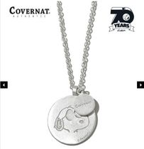 【Covernat X Peanuts】70th SNOOPY SILVER NECKLACE