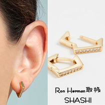 国内発送 SHASHI Rebel Hoop Earrings