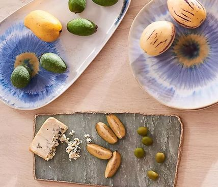 Anthropologie 食器(皿) 【Anthropologie】アンティーク風  Agate Cheese Board/全3種(9)
