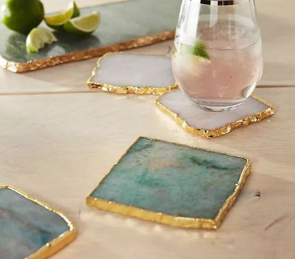 Anthropologie 食器(皿) 【Anthropologie】アンティーク風  Agate Cheese Board/全3種(10)