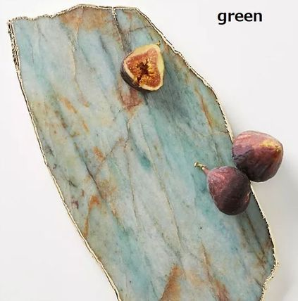 Anthropologie 食器(皿) 【Anthropologie】アンティーク風  Agate Cheese Board/全3種(4)