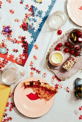 Anthropologie 食器(皿) 【Anthropologie】アンティーク風  Agate Cheese Board/全3種(13)