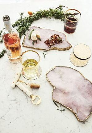 Anthropologie 食器(皿) 【Anthropologie】アンティーク風  Agate Cheese Board/全3種(14)