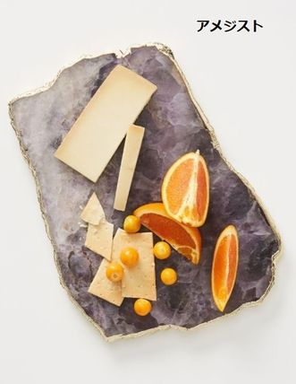 Anthropologie 食器(皿) 【Anthropologie】アンティーク風  Agate Cheese Board/全3種(15)