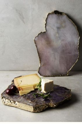 Anthropologie 食器(皿) 【Anthropologie】アンティーク風  Agate Cheese Board/全3種(18)