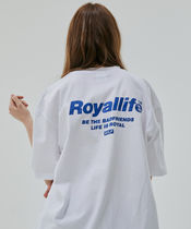韓国人気☆RL701 BE THE FRIENDS SHORT SLEEVE/全2色/ROYALLIFE
