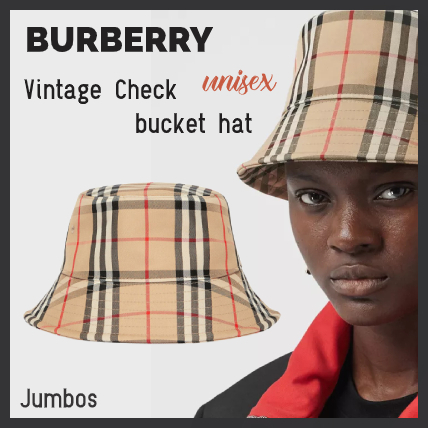 【BURBERRY】バーバリー ヴィンテージチェック バケット ハット (Burberry/ハット) 8026927